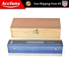0000210 8 Master Precision Level In Fitted Wooden Box For Machinist Tool
