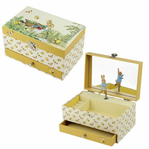 Peter Rabbit Gift Peter Rabbit Large Musical Box Christening Gift Peter Rabbit