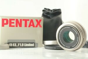 [ Near Mint Boxed ] smc PENTAX FA 43mm F/1.9 Limited Lens K Mount From Japan