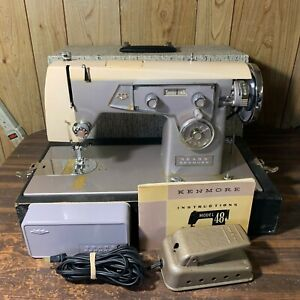 Vintage-Sears-Kenmore-158-480-Model-48-Heavy-Duty-Sewing-Machine