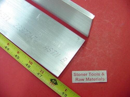 "2 Pieces 1//4/"" X 3/"" ALUMINUM FLAT BAR 48/"" long 6061 .250/"" Plate Mill Stock"