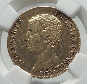 1803-FRANCE-Napoleon-Bonaparte-20-Francs-Antique-French-Gold-Coin-NGC-i80926