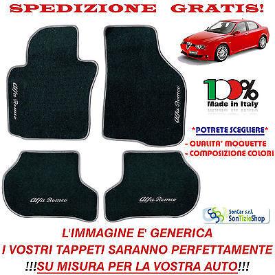 Scegli Colori e Qualità! Tappetini Auto Personalizzati Tappeti Alfa Romeo 156