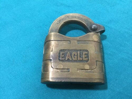 Vintage Eagle Padlock Locksmith