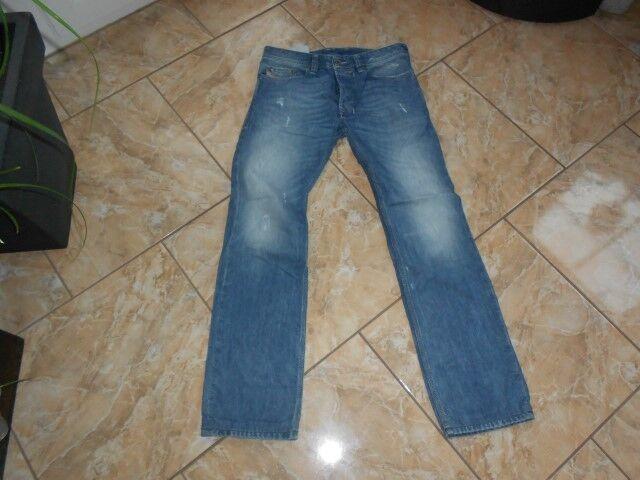 H1827 Diesel SAFADO Jeans W29 Mittelblau Mittelblau Mittelblau  Zustand  Gut   Kostengünstiger    Genial    Vielfältiges neues Design    Passend In Der Farbe  674380