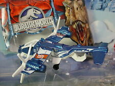 2015 JURASSIC WORLD Mission Force SKY SAFARI✰Blue/White prop plane; 05✰Matchbox