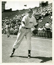 Large Original 1940s Photo of San Francisco Seals PCL Baseball Player (4)