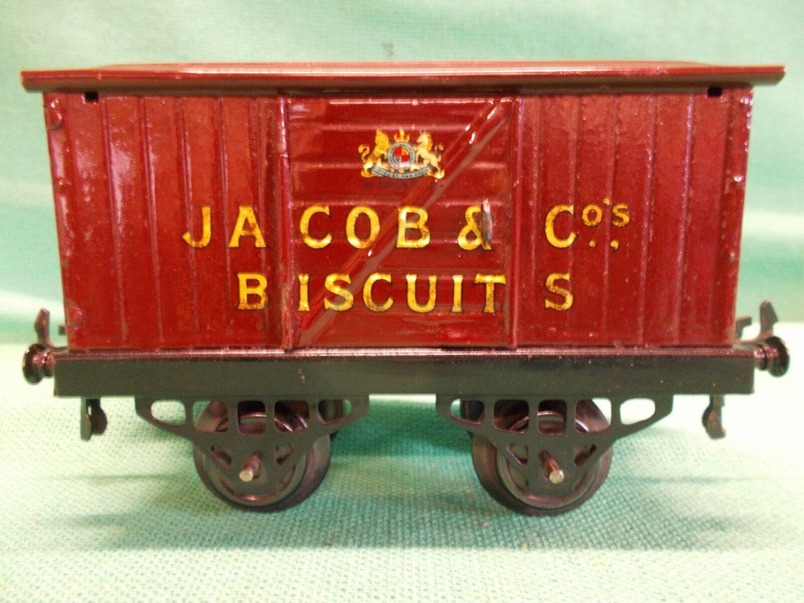 Hornby O Gauge JACOB BISCUITS VAN Circa 1927 Very Good Example Gauge 0