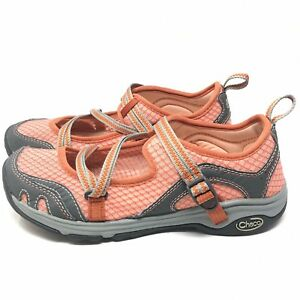 22895c95a240 CHACO Outcross Evo MJ Mecca Mary Jane Sports Water Hiking Shoes Pink ...