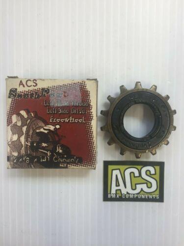 "ACS Southpaw BMX Freewheel Left Hand Drive 1//2 x 1//8/"" 14T"