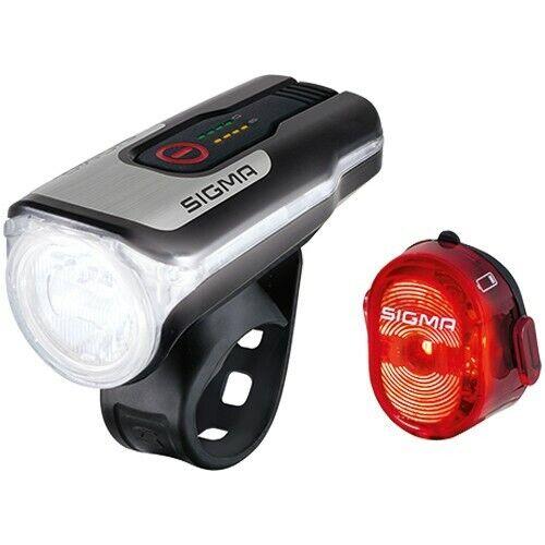 Sigma Lumière Set aura 80 USB /& NUGGET II Sigma 80 Lux Noir Rouge avec code de la route