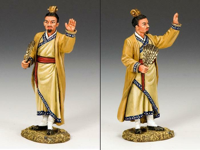 King & Country IC037 Zhuge Liang - RETIRED - Mint in the Box