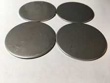"Lot of 15 20 Gauge 3//8/"" Stainless Steel #4 Discs"