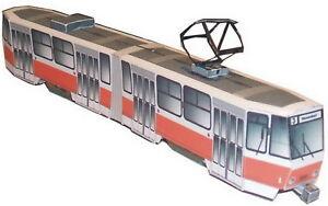 Straßenbahn Cottbus Kartonmodell Bausatz Bastelbogen Diverse!