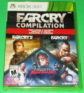 Far Cry Compilation Xbox 360 New Factory Sealed Free Shipping 8888529071 Ebay