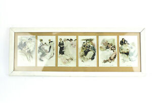 Harrison-Fisher-Greatest-Moments-of-a-Girls-Life-Reinthal-Newman-Carved-Frame