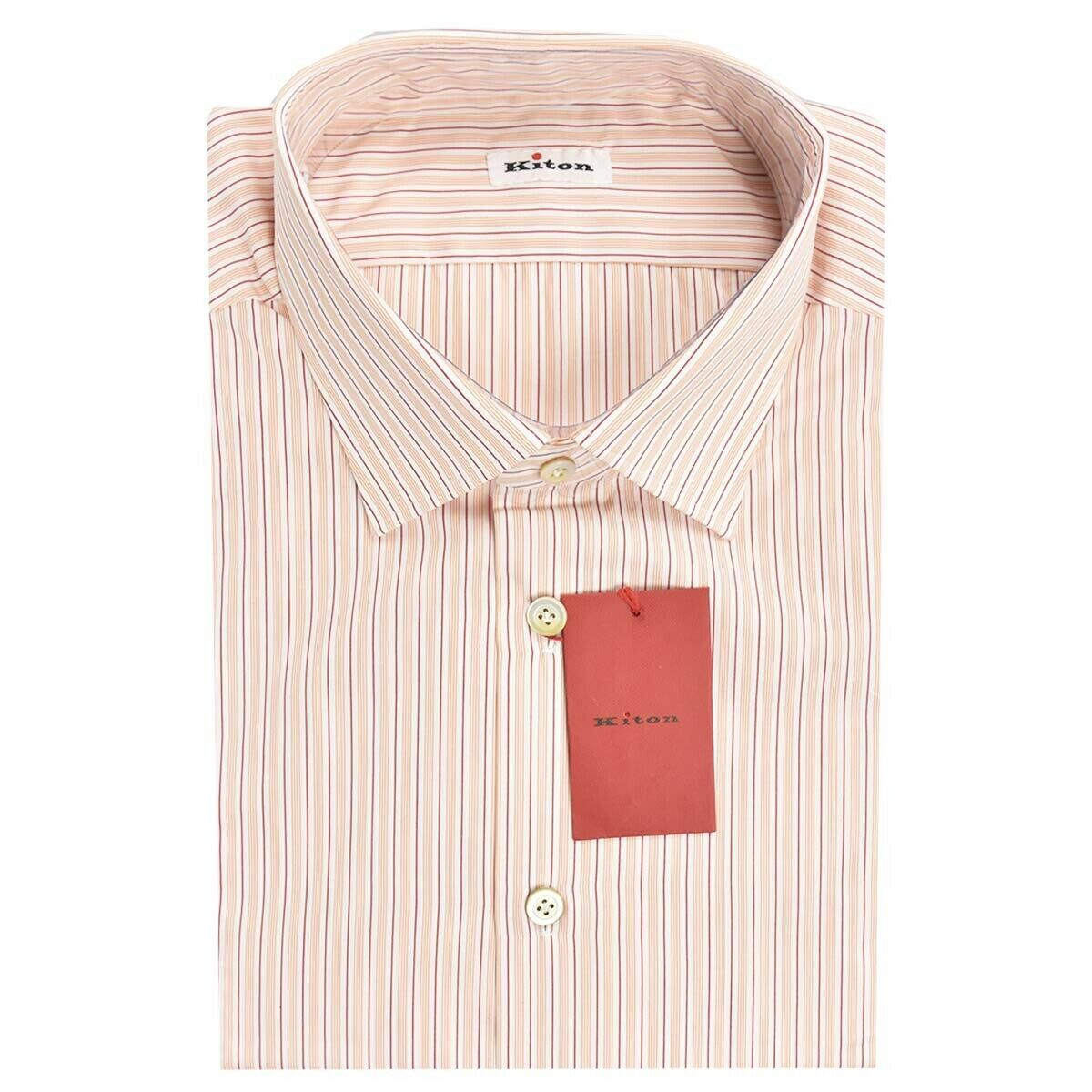 NEW KITON SHIRT 100% COTTON MOD. UCM 19H378