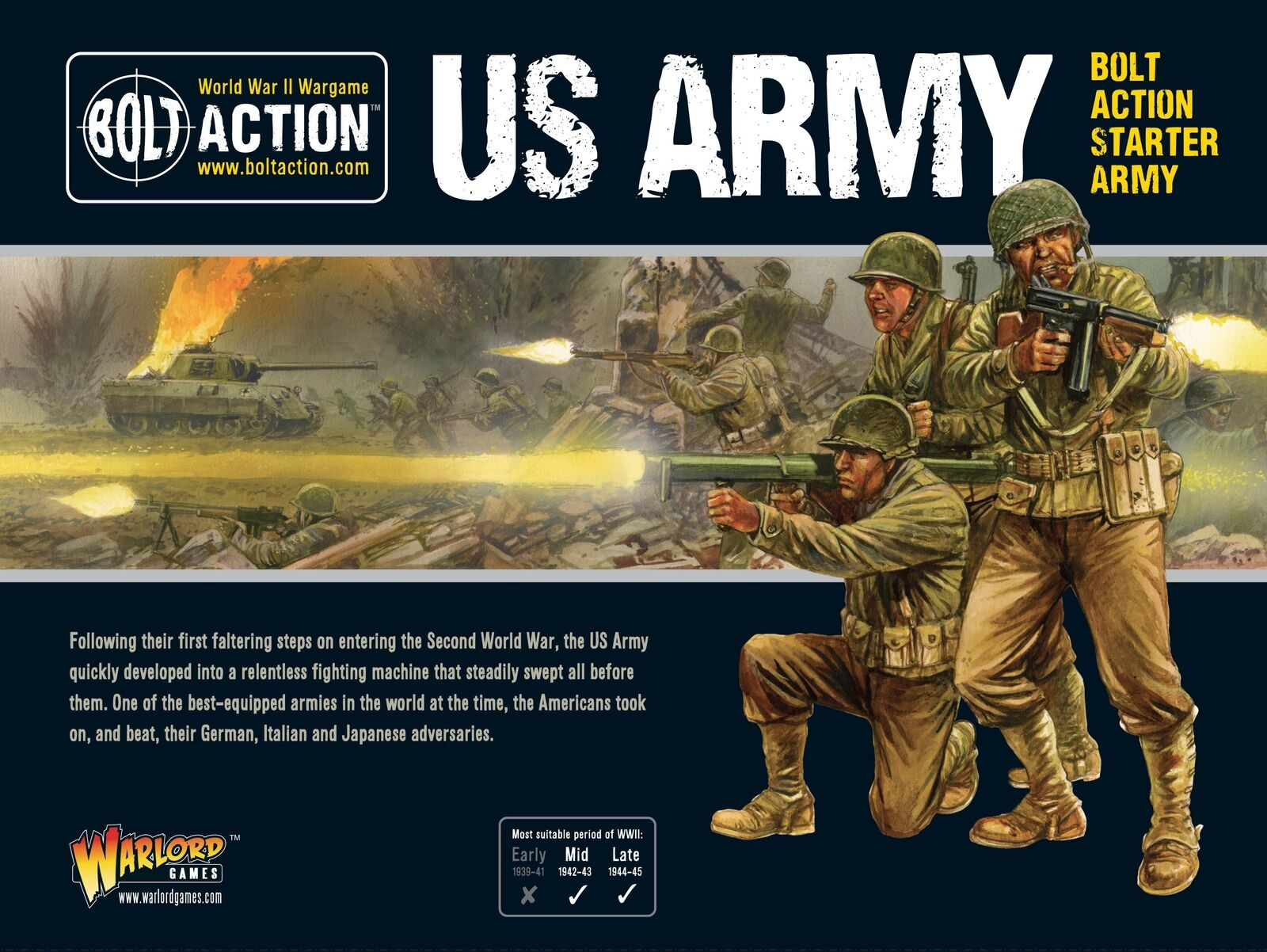 US Army Starter Army Warlord Games Brand New WGB-409913016