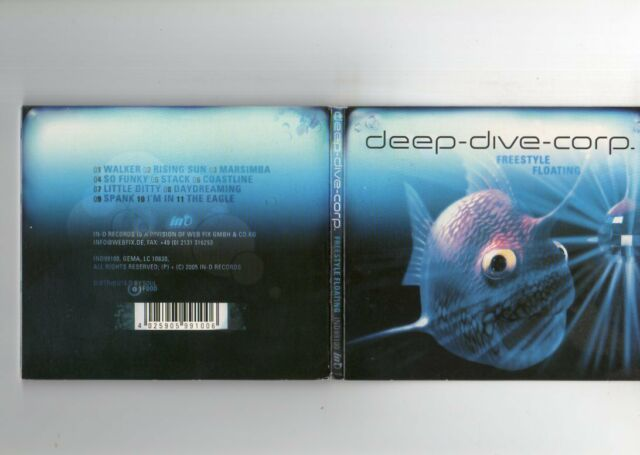 Deep-Dive-Corp. - Freestyle Floating - CD Album - DOWNTEMPO AMBIENT TRANCE