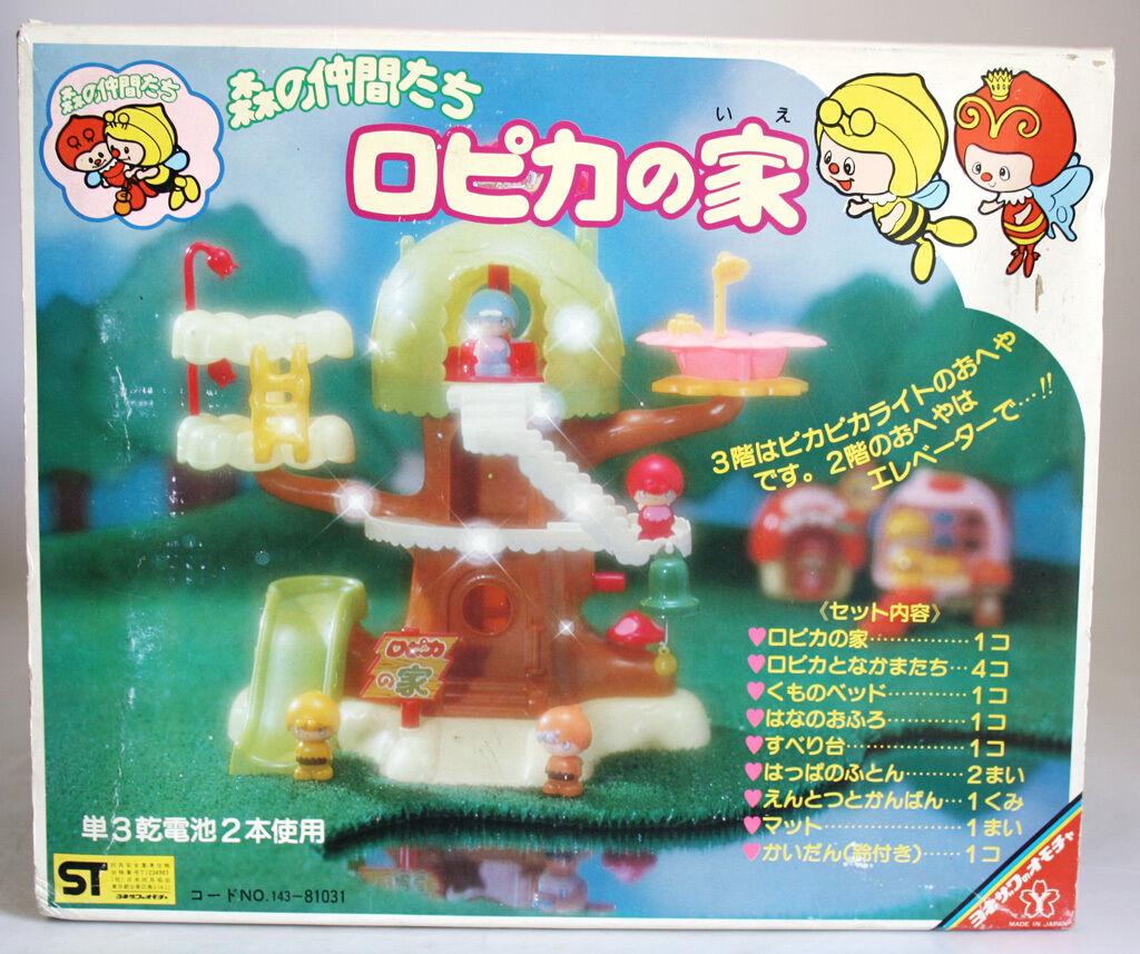 Ultra Rara Vintage 70 de trabajo de la abeja de la casa del árbol de abejas Yonezawa Japón Nueva En Caja