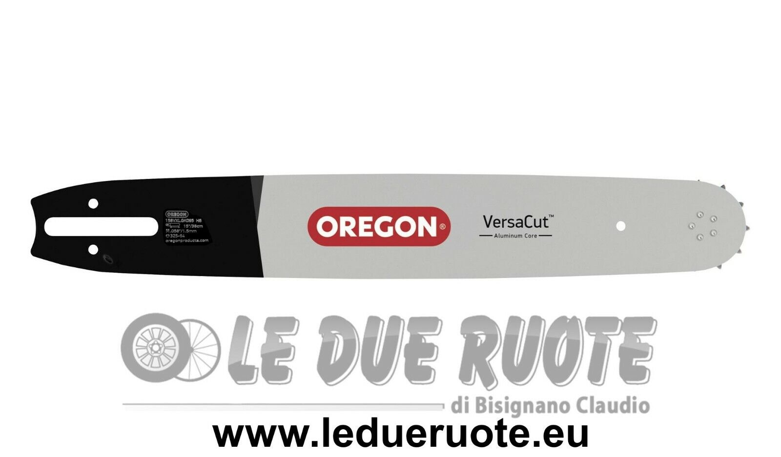 Bar Oregon Chainsaw Husqvarna 455e-RANCHER Versa Cut™ 40 45 cm Original