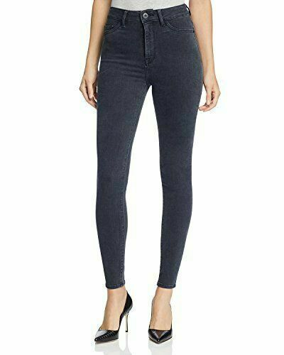 Jessica Alba x DL1961 No. 1 High Rise Super Skinny Jeans in Kinetic Size 27