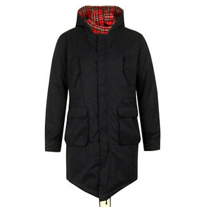 Merc Tobias Fishtail Parka Men 4 Pockets custom fit coat jacket ...