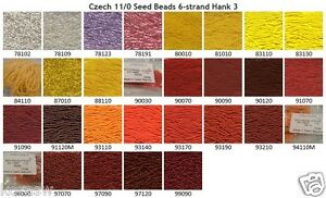 Czech-11-0-Glass-Seed-Beads-6-strand-Hank-3