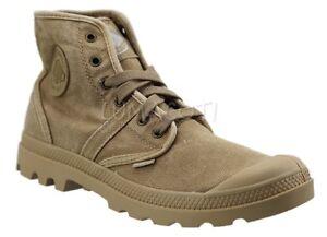 Palladium Mens Ankle Boots Woodlin/Honey Mustard