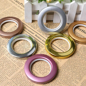 7 colors Curtain Rings Blinds Slide Circle Drapery Decor Accessories Eyelet Ring