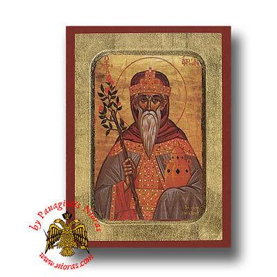 Orthodox Byzantine Wooden Icons of Archangel Gabriel Orthodoxe Ikone Erzengel