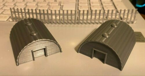 00 gauge 3D printed pig sty//animal house.....x 2