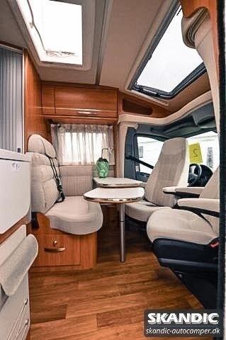 Hymer Van S 520, 2017, km 20000
