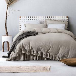 Ruffled-Linen-Duvet-Cover-Bedding-Sets-Linen-Pillow-case-3pcs