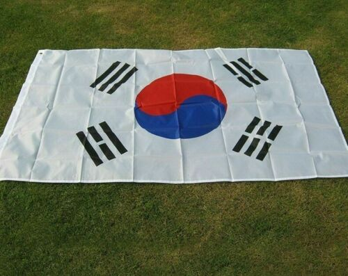 South Korea Korean Flag Banner Flags High Quality Polyester Fabrics Countries