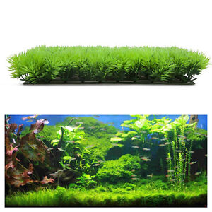 25*25cm Green Grass Plant Lawn Aquarium Landscape Artificial Fake Water Aquatic