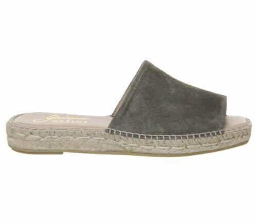 Femme GAIMO pour bureau GLADIS bout carré Mules kaki daim sandales