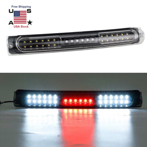 For 1997-2003 Ford F-150 3rd Third Brake Light LED Rear Clear Cargo Tail Lamps