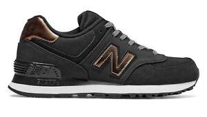 New Balance WL574 Negro z0N44M3FJ7