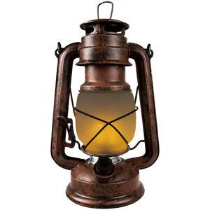 LED-tempesta-LANTERNA-Decorativa-Effetto-Fiamme-Fuoco-Torcia-Lanterna-Batteria-Dimmerabile