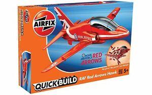 J6018-Airfix-RAF-Red-Arrows-Hawk-Quickbuild-Kit-Hornby-Hobbies