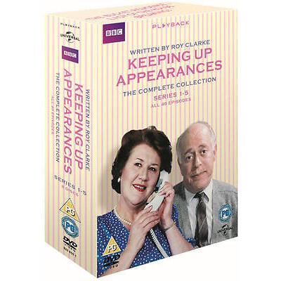 Keeping Up Appearances: Series 1-5 (Box Set) [DVD]
