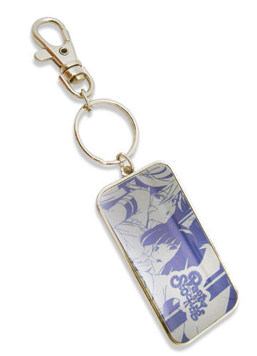Panty and Stocking Panty and Stocking Metal Key Chain Manga Licensed MINT