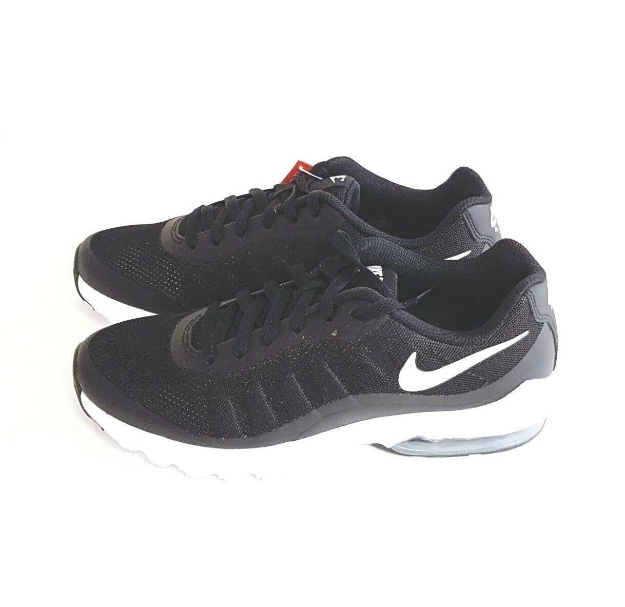 Brand New 749680-010 NIKE AIR MAX INVIGOR Black shoes Sneakers US M 7.5 9 9.5 10