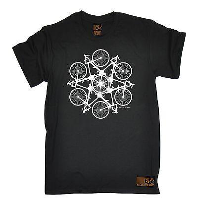 Cycling Kaleidospoke T-SHIRT Cyclist Bike Tee Biking Ride Funny birthday gift