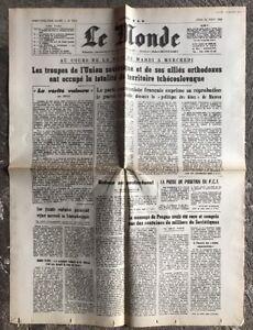 N71-La-Une-Du-Journal-Le-Monde-22-Aout-1968