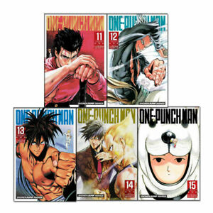 One-Punch-Man-Volume-11-15-Collection-5-Books-Set-Series-3-Children-Manga-Book