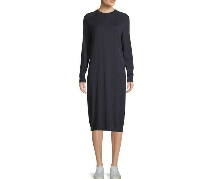 Anselmo Knitted Silk & Wool Shift Dress MSRP    370 Size XL B 127 NEW 09847f