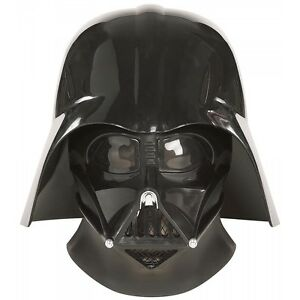 Image is loading Darth-Vader-Helmet-Adult-Star-Wars-Costume-Mask-  sc 1 st  eBay & Darth Vader Helmet Adult Star Wars Costume Mask Fancy Dress | eBay