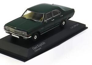 Opel Captain A Toundra Green 1964 Minichamps 400048001 1/43 Tundragrun Vert Grun